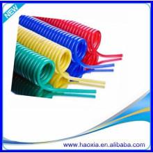 Tubo flexible neumático de la espiral del resorte del tubo de la PU 6X4