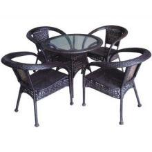 2013 Hot Sell High Quality rattan garden furniture Bistro Set