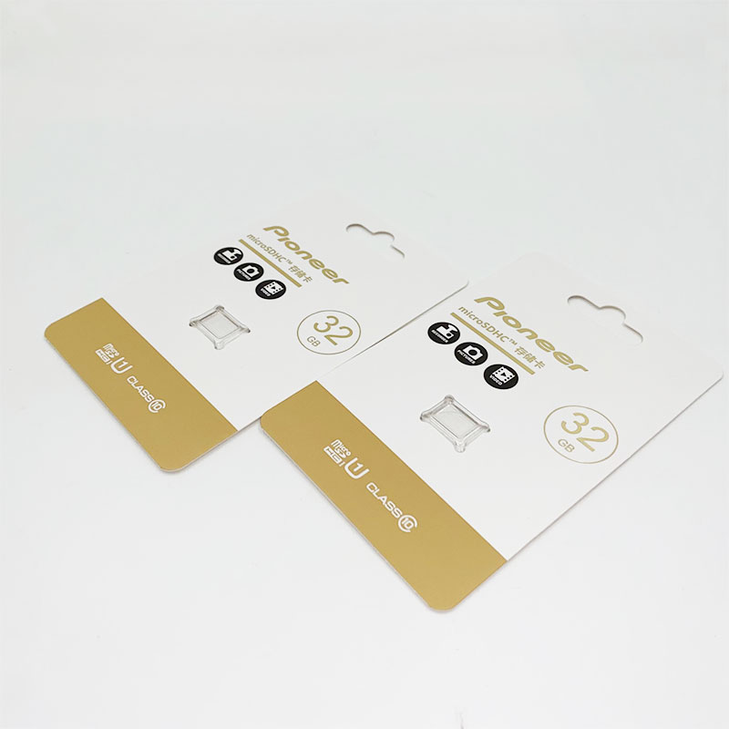 Storage card paper card packaging
