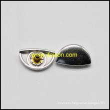 Half round Shape Metal Snap Button