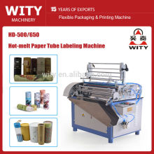 Automatic Paper Cans Labeling Machine