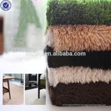 Polyester-Pelz selbstklebende rutschfeste Treppenstufen Teppich