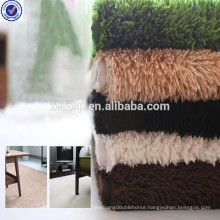 Polyester fur self-adhesive non-slip stair treads rug