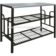 Estante múltiple del metal, estante de la placa de la cocina
