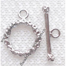Gets.com brass snake toggle clasps