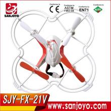 2.4G 4CH Control de Voz 4 canales rc drone con girocompás mini quadcopter Juguetes Eléctricos Drone FX-21V