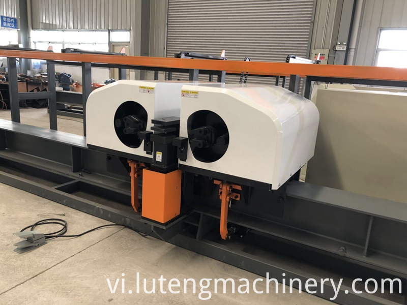 Cnc Bouble Head Rebar Bending Machine