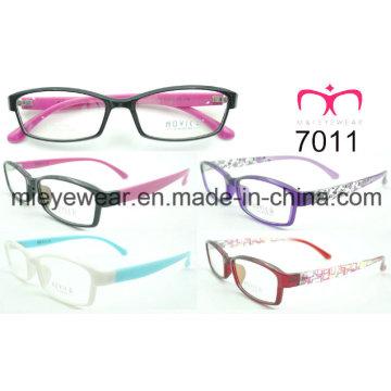 Tr90 Cadre optique pour dames à la mode (7011)