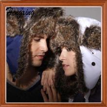 Rabbit Wool Winter Caps