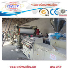 free foamed plastic pvc sheet machine