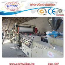 máquina de folha de plástico livre de espuma de pvc