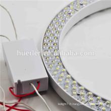Les importations chinoises en gros AC220V a conduit la lumière de l'anneau a conduit la lampe a conduit les lumières à la maison