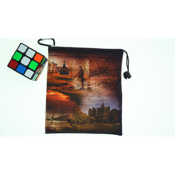 sac d'impression photo en microfibre cube magique