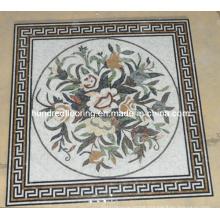 Pattern Mosaic Marble Stone Mosaic Floor Tile (ST99)