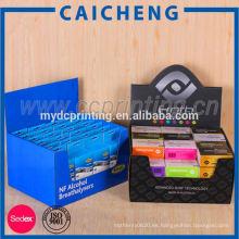 Caja de presentación de la caja de cartón de caramelo con impresión personalizada