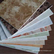 3mm Marble Color UV Coated PVC Vinyl Wall Panel