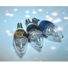 Lampe à miroir miniatures à LED miniature en verre et blanc