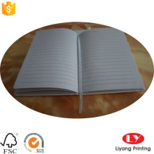 PU leather Custom Notebook with Elastic Band Ribbon