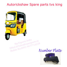 Best Price of Tuk tuk Spares Number Plate Light with Good Performance