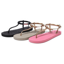 Custom Casual Fashion EVA Beach Ladies Slippers Flip Flop