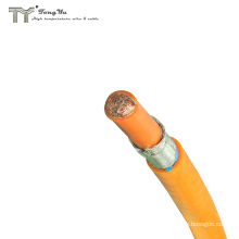 EVP 4AWG 25mm 798/0.20AS Orange Electric Vehicle Battery Cable With Shield