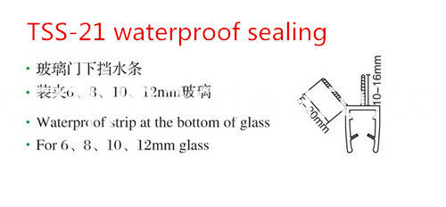 Waterproof Glass Used Seal
