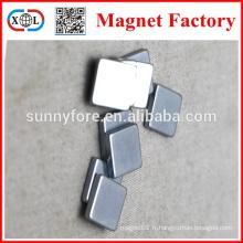 Aimants de forme n40 zinc rectangle