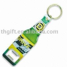 Metal Bottle opener key rings with custom logo