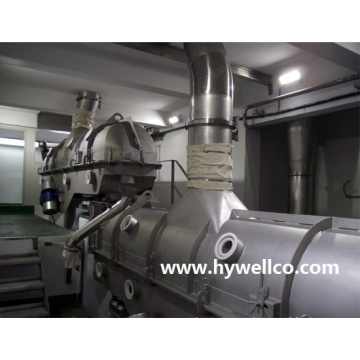 Nikel Sulfate Vibrating Fluid Bed Dryer