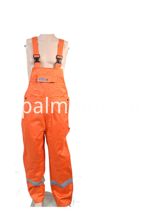 Orange Color Flame Retardant Overalls