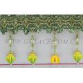 Kinds of long decorative Beaded Fringe