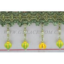 Types de longue tenue en perles décoratives