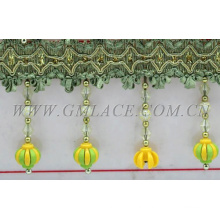 Kinds of long decorative Beaded Fringe