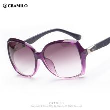 Cramilo 2016 oversized brand butterfly gradient lens fashion sunglasses 9708