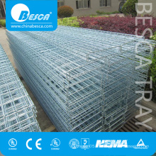 Grid Basket Wire Mesh Cable Tray for World Wide Wholesale of Electro Galvanized Finish