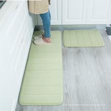 Küche waschbar Memory-Schaum Läufer Teppich-Sets