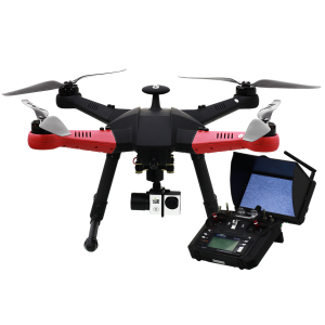 550mm Police Drone com 3axis Gimbal