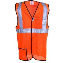 Mesh Orange Hi-Vis Safety Vest