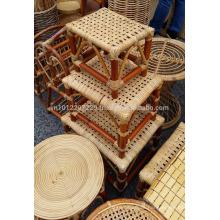 REAL Muebles de jardín / al aire libre de ratán - Taburete 2