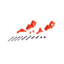 Kit de buje delantero de aluminio CNC naranja