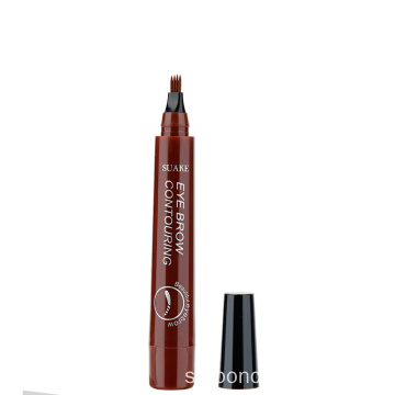 Mikroblading vattentät gaffel Tip Liquid Eye Brow Pencil