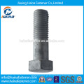 China fabricante DIN933 DIN931 parafuso padrão auto fixadores