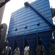 Industrial fume baghouse dust collector