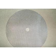 Disque filtrant en acier inoxydable fritté à couche unique
