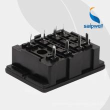 Высококачественная 8-контактная розетка для монтажа Saipwell с сертификацией CE 18F-2Z-A5 (SY2)