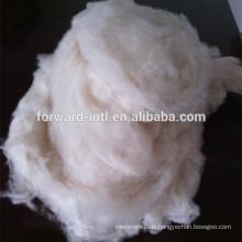 Enthaarte innere mongolische 15.5mic weiße Kaschmirfaser