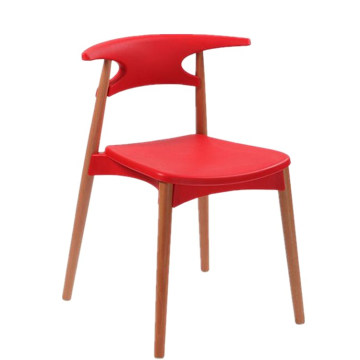 Wholesale cheap China product Nordic wood dining leisure chair