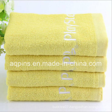 100% Combed Cotton Towel with Logo (AQ-023)