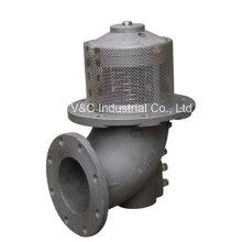 Válvula submarina do oleoduto do aço de carbono 600psi 16in