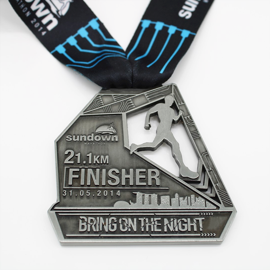Silver Finisher Medal